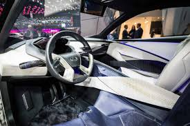lexus lf lc interior lexus lf sa concept car revealed lexus
