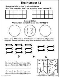number bonds to 16 free math worksheets free math number lines