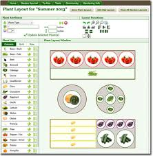 vegetable garden layout tool all garden layouts