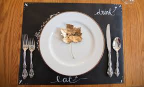 thanksgiving table ideas cheap fall home tour e2 80 93 tidbitstwine the place settings consist of