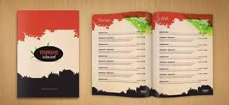 restaurant menu psd template free psd files