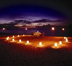 beach romantic dinner beach evening sea hd image for hd 16 9 high