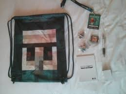 minecraft goody bags minecon 2015 goodie bag minecon 2015 archive minecraft forum
