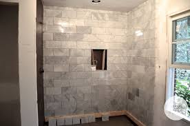 Master Bathroom Shower Tile Ideas by Carrara Marble Bathroom Shower Tile This Is The Master Shower