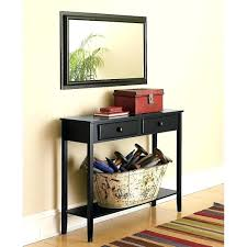 Black Entryway Table Decoration Decorating Entryway Table Image Of Black Console Ideas