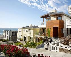 beautiful beach house design in california wallpaper