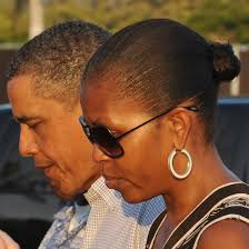 ms obamas hair new cut the hair evolution of michelle obama allure