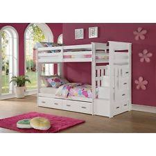 Bunk Bed With Desk Ebay Bunk Bed Stairs Ebay