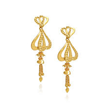 stylish gold earrings collections cinderella stylish gold earrings grt jewellers