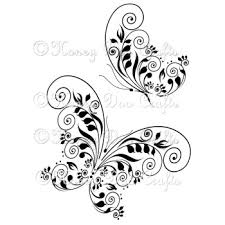 honey doo crafts clear sts butterfly swirls the craft barn