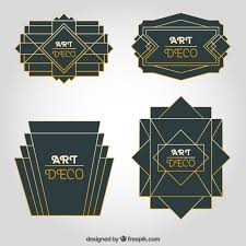 deco ornament collection vector free