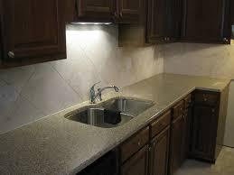 kitchen dazzling kitchen design with cream wall tile backsplash
