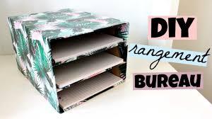 accessoire rangement bureau diy rangement bureau pour vos feuilles galerie et accessoire