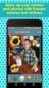 Meme Maker For Android - comic meme maker funny meme generator android apps on google play