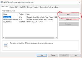 cara membuat koneksi database mysql menggunakan odbc cara mengkoneksikan vb ke database mysql anak kendali