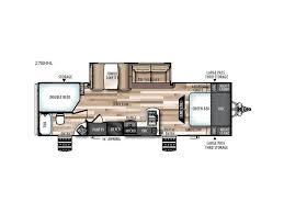 Salem Travel Trailer Floor Plans by 2017 Forest River Rv Salem Hemisphere Hyper Lyte 27bhhl Sturgeon