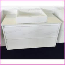 750mm Wall Hung Vanity 750mm Wall Hung Vanity With Stone Top U0026 Above Counter Basin Ebay
