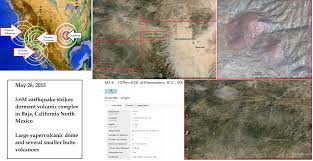 Mexico Volcano Map by 5 27 2015 U2014 Northern Southern California Hit By Earthquakes At