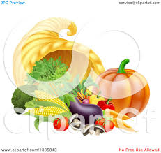 harvest thanksgiving service cornucopia clipart thanksgiving feast pencil and in color