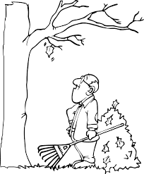 autumn leaves coloring page last leaf needs to fall