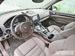 porsche suv 2015 interior 2013 porsche cayenne gts first drive european car magazine