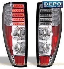 2004 Silverado Tail Lights Chevy Colorado 2004 2012 Depo Clear Led Tail Lights A102vu7k109