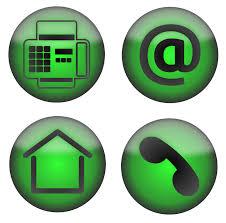 fax at home phone icons clip art at clker com vector clip art