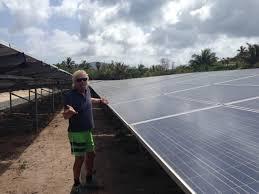 Necker Island by Necker Island Goes Solar Virgin