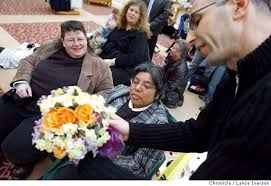 strangers flowers the flowering of strangers from midwest send bouquets sfgate