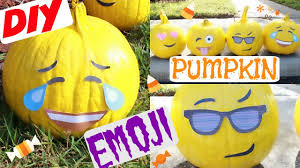 Home Decorating Craft Projects How To Diy Emoji Pumpkins Home Decor Craft Projects Youtube