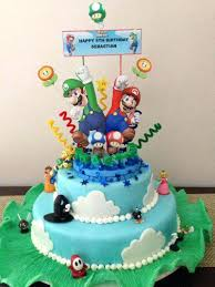 mario cake topper mario brothers cake toppers shop gallery bros topper party