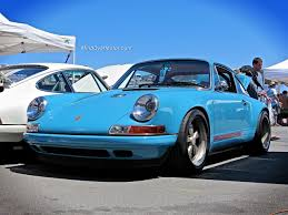singer porsche blue epic road cars at laguna seca mind over motor
