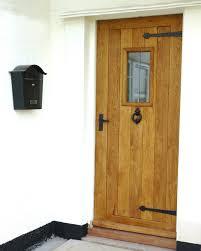 Oak Exterior Doors Ox Bow External Solid Oak Door Front Doors Doors And External Doors