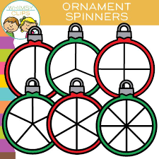 free ornament spinners clip images illustrations whimsy