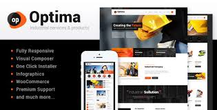 optima industrial wordpress theme by ancorathemes themeforest