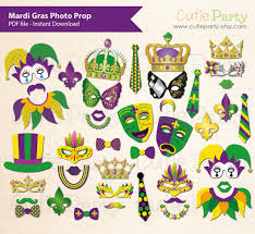 mardi gras items mardi gras photo booth prop mardi gras party printable mardi