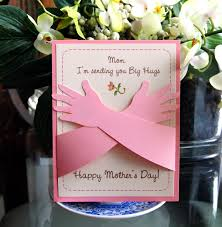 Diy Mother S Day Card by Mother U0027s Day Card Hugs I Love You This Much