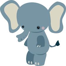 free baby elephant clipart image 3647 cute cartoon elephants