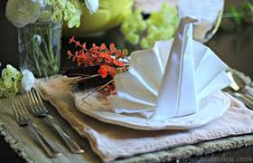 thanksgiving table setting pinkwhen
