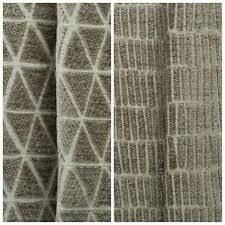 Caravan Upholstery Fabric Suppliers Geometric Chenille Upholstery Craft Fabrics Ebay