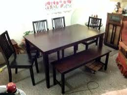 walmart dining room sets better homes and gardens bankston dining table mocha walmart