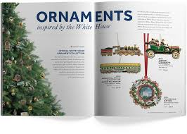 White House Christmas Ornaments Collection by White House Historical Association Catalog U2013 Friendly Design Co