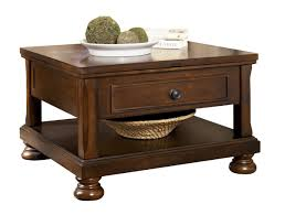 porter traditional rustic brown wood lift top cocktail table w