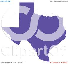 United States Map Clip Art by Clipart Of A Purple Silhouetted Map Shape Of The State Of Texas
