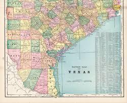 Old Texas Map Antique Map Cincinnati Ohio From 1895 Original U2013 Beautiful Old Map