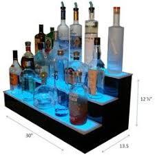 led lighted bar shelves l e d lighted liquor display bar shelves back bar displays