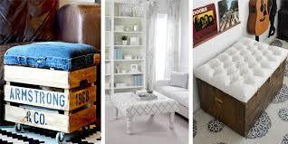 Ottoman Ideas 20 Creative Beautiful Diy Ottoman Ideas Diys To Do