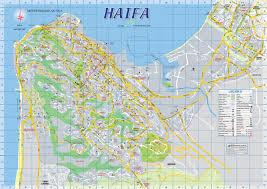 Map Israel Haifa Maps Israel Maps Of Haifa
