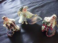 kinkade world santa ornaments 9th issue set