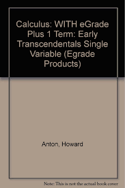 calculus early transcendentals 8th edition anton 9780471728665